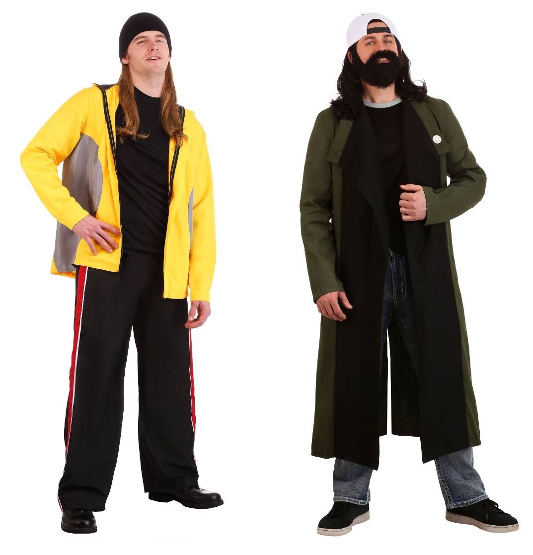 Silent Bob and Jay Couples Costumes