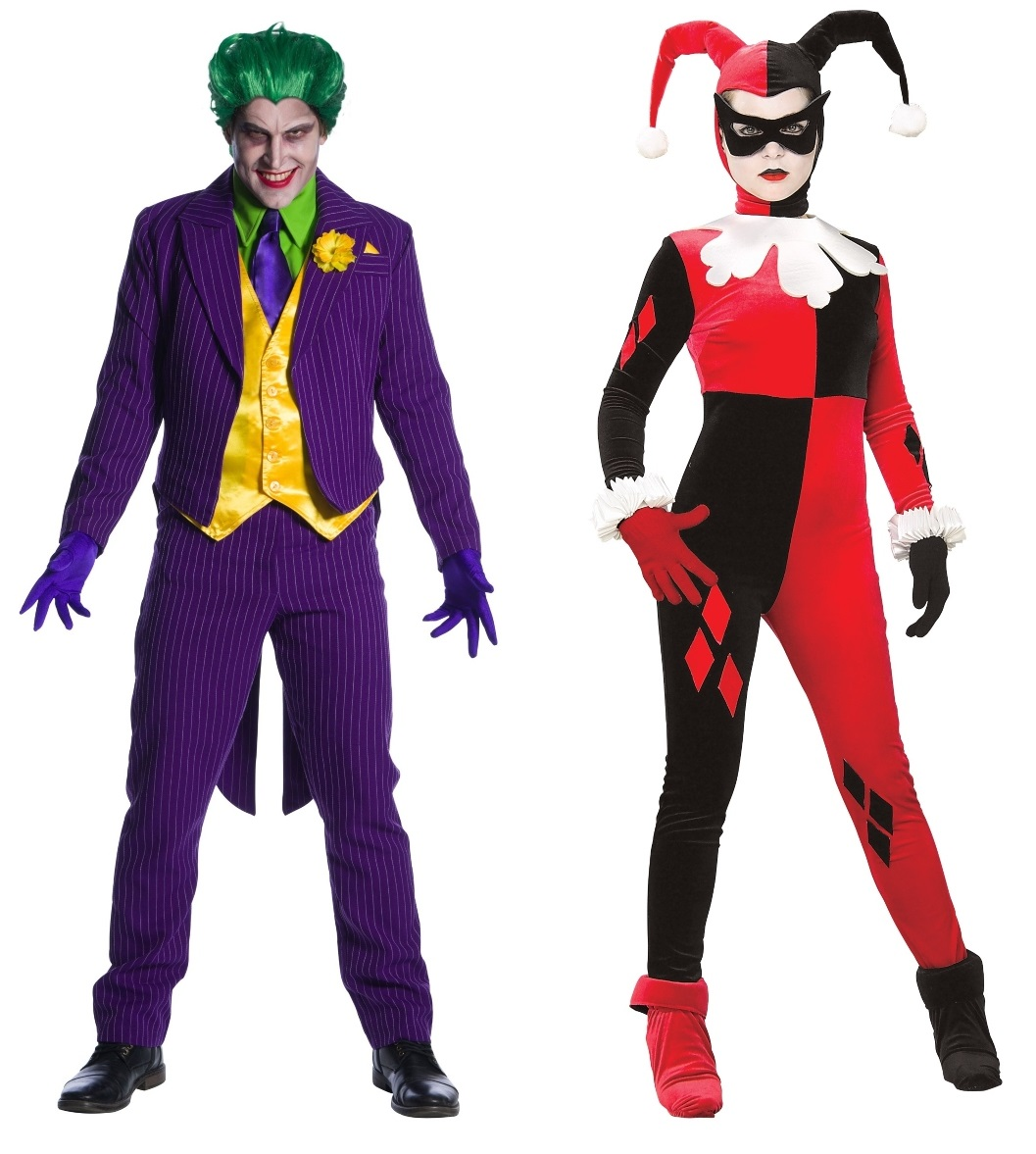 Harley Quinn and Joker Couples Costumes