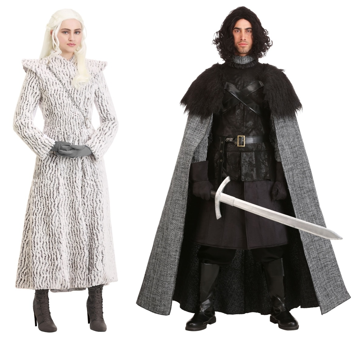 Jon Snow and Daenerys Couples Costumes