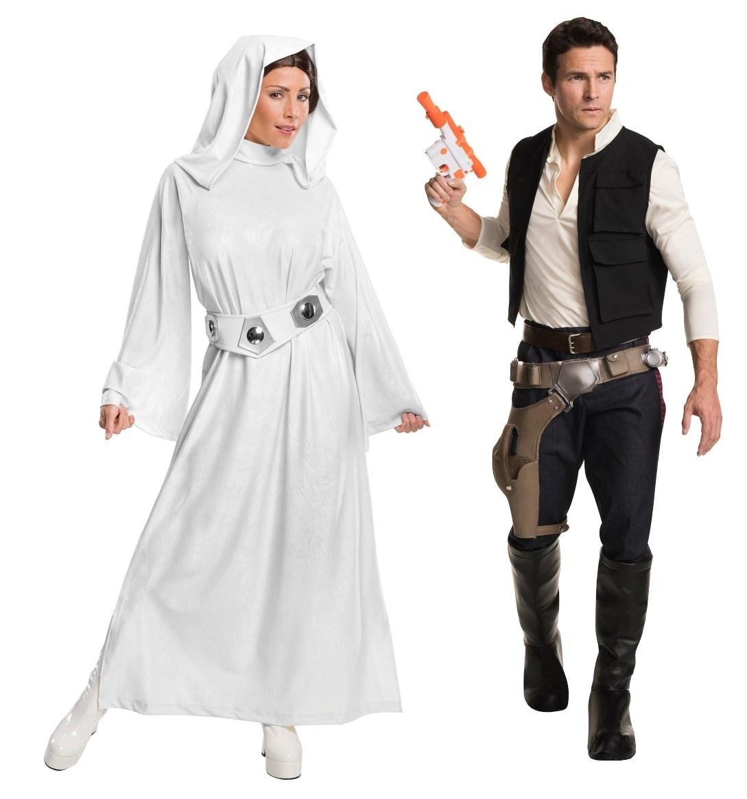 Han and Princess Leia Couples Costumes