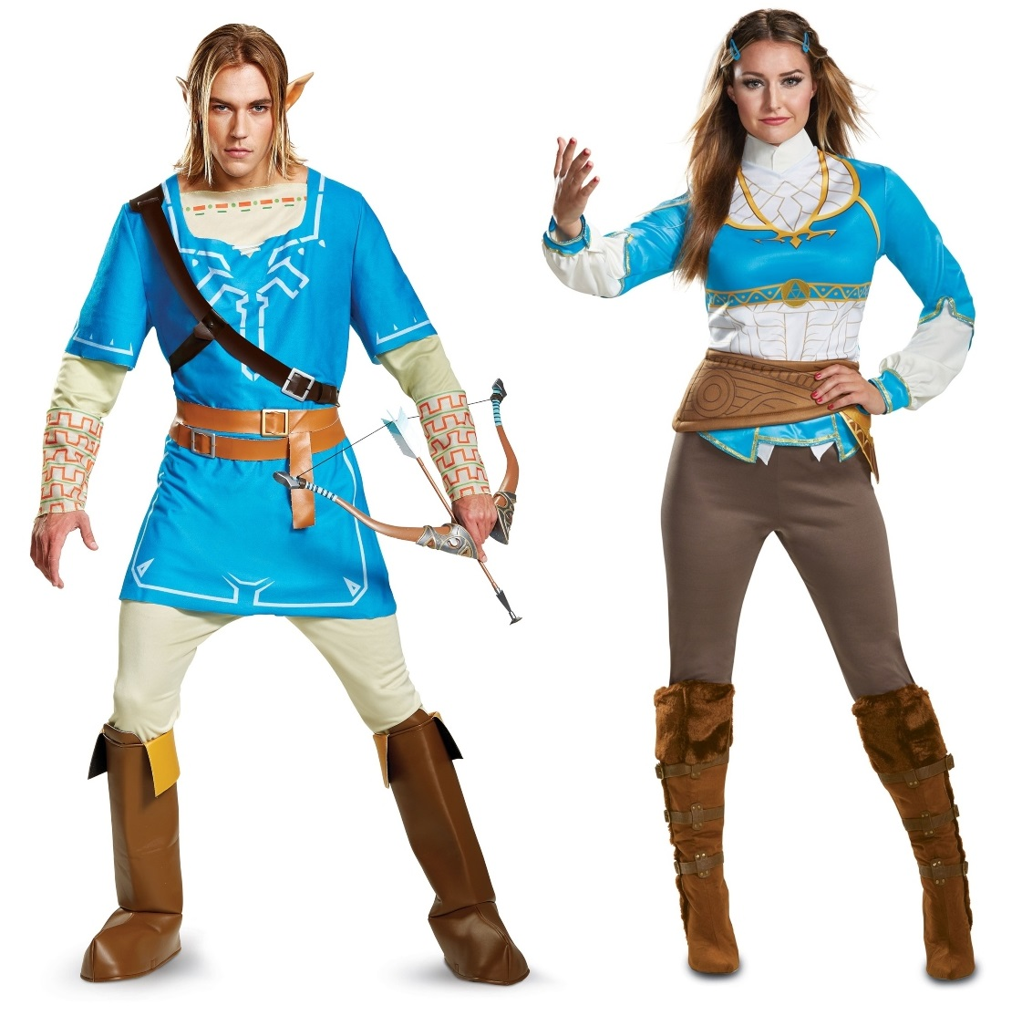 Link and Zelda Couples Costumes