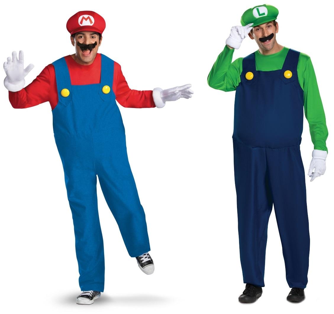 Mario and Luigi Couples Costume