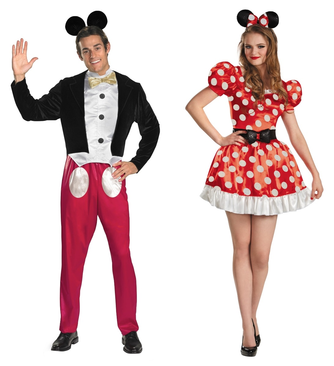 Minnie and Mickey Couples Costumes
