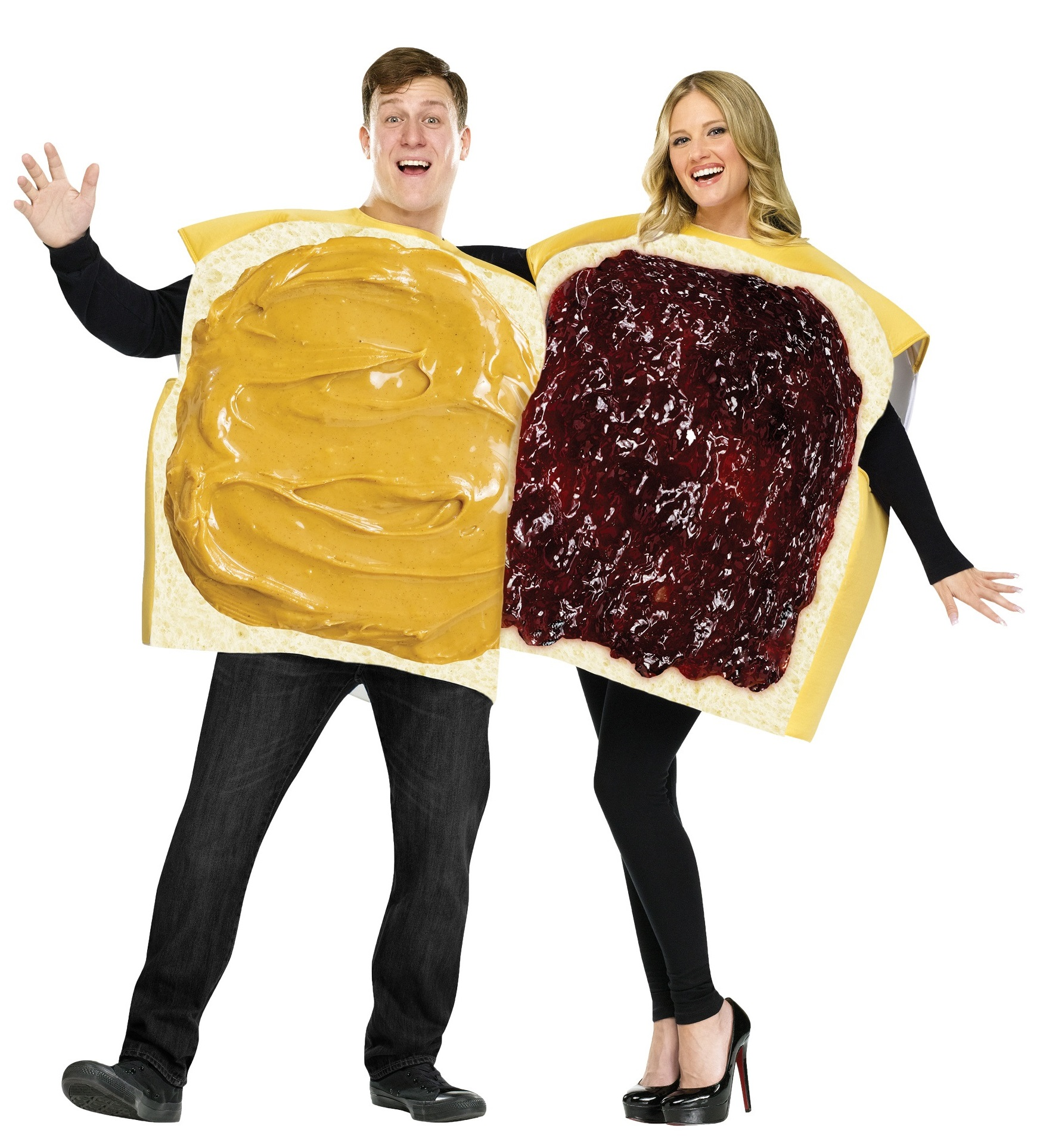 Jelly and Peanut Butter Couples Costumes