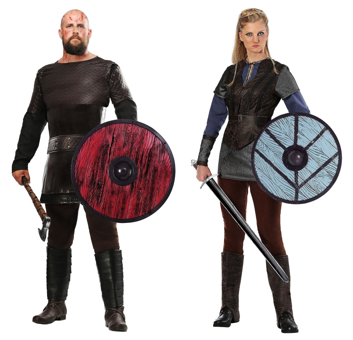 Ragnar and Lagertha Couples Costumes