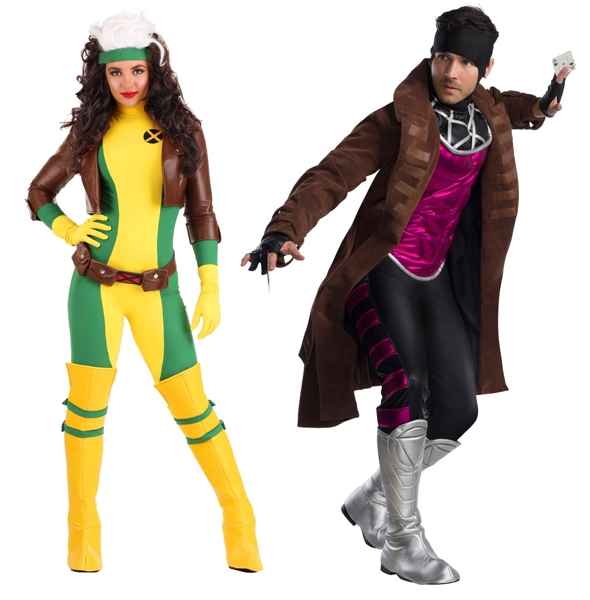 Gambit and Rogue Couples Costumes