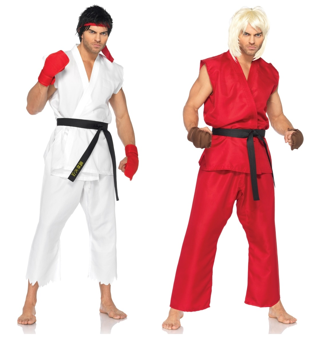 Ken and Ryu Couples Costumes