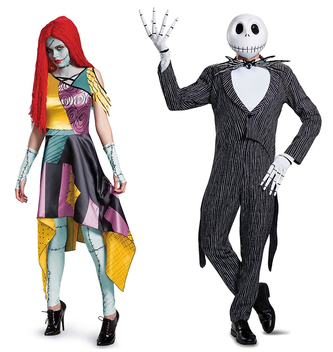 Sally and Jack Couples Costumes