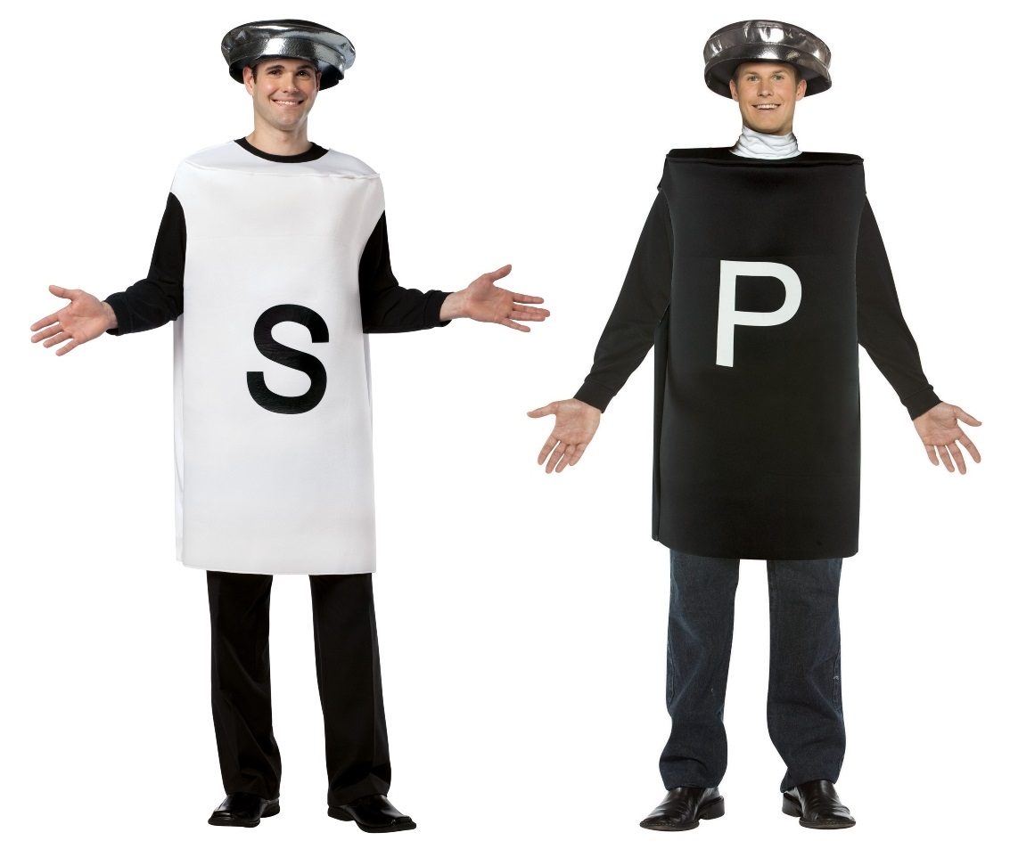 Salt and Pepper Couples Costumes