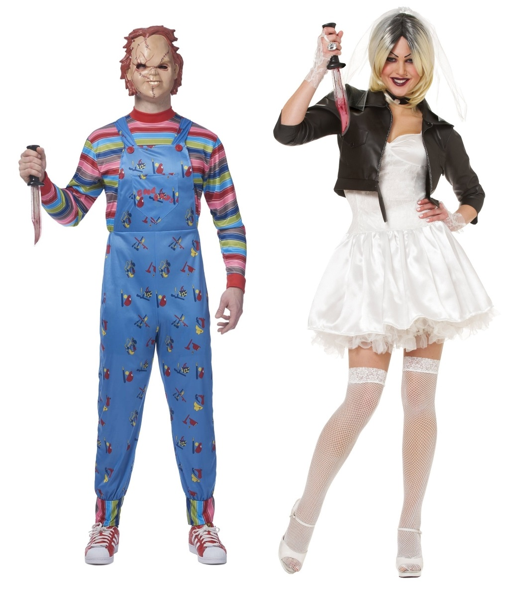 Tiffany and Chucky Couples Costumes