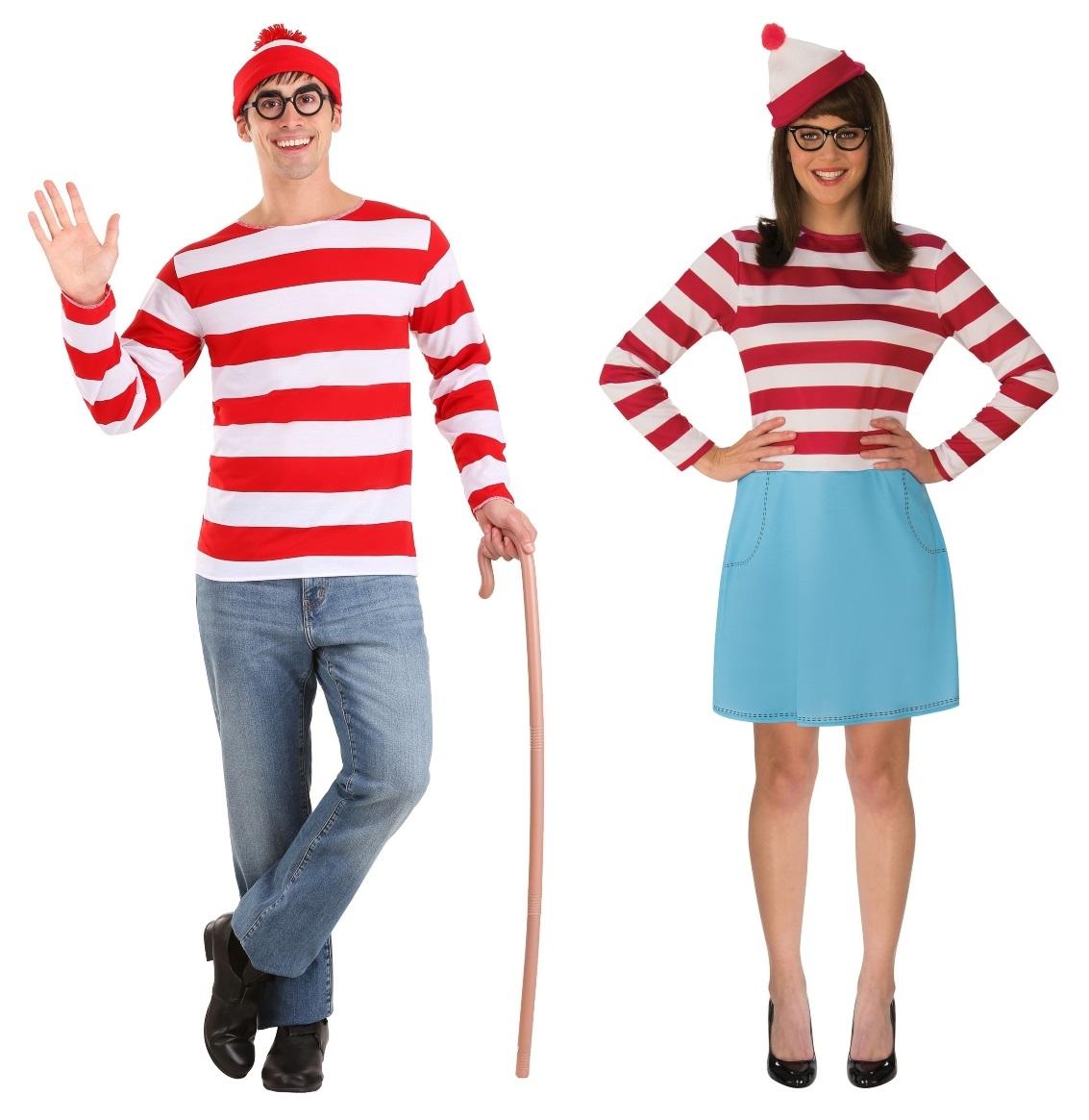 Waldo and Wenda Couples Costumes