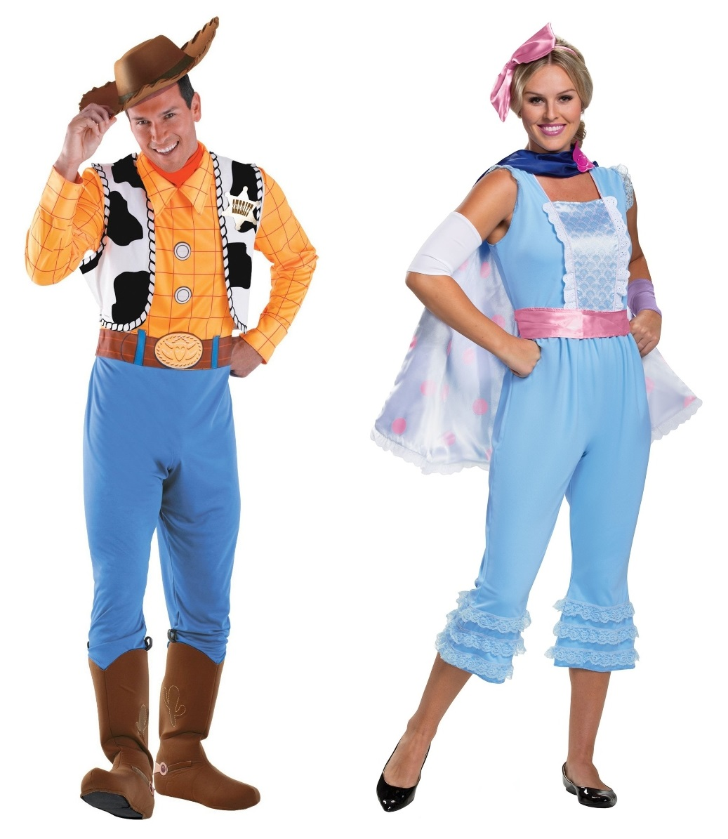 Woody and Bo Peep Couples Costumes