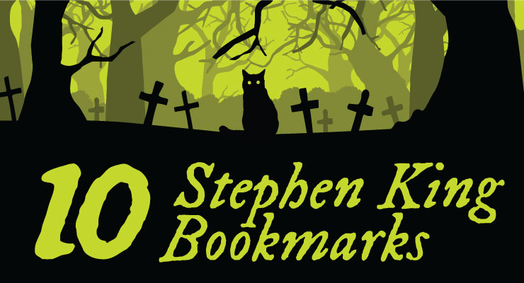 Stephen King Bookmarks
