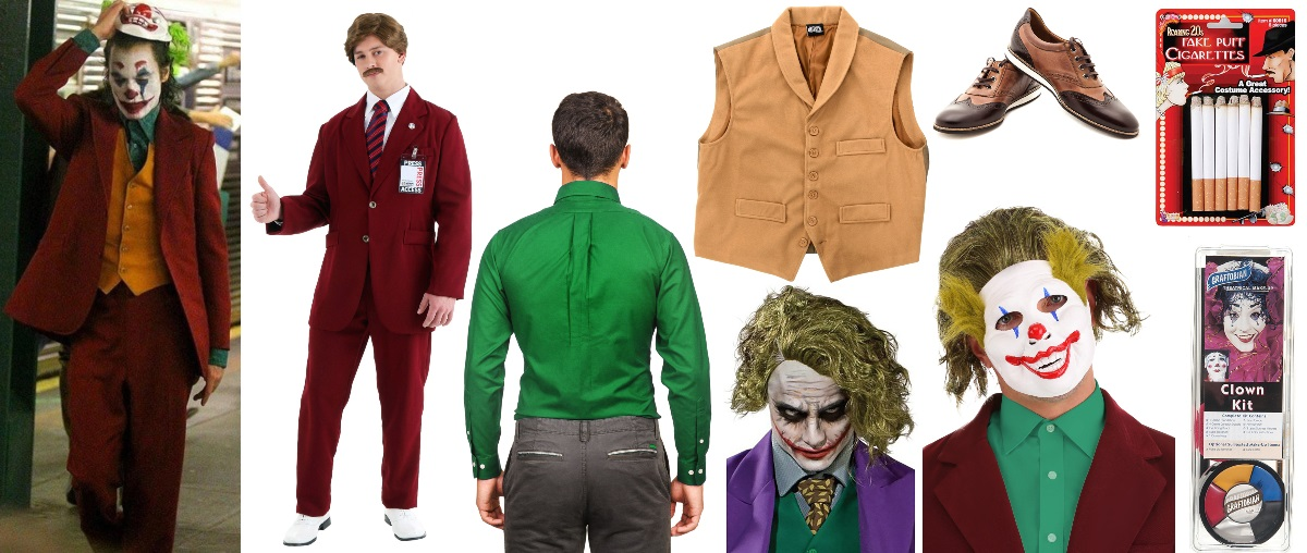 Joker Costume Diy Put On A Happy Face Halloween Costumes Blog