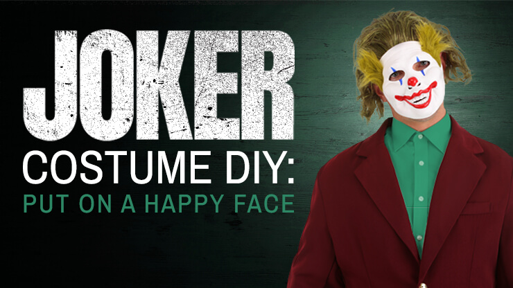 Joker Costume DIY: Put on a Happy Face