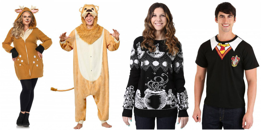 Easy and Last-Minute Halloween Costumes: Hoodie, Pajama, Sweater, and Shirt