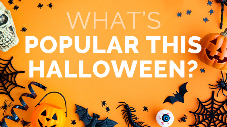 What's Popular This Halloween?