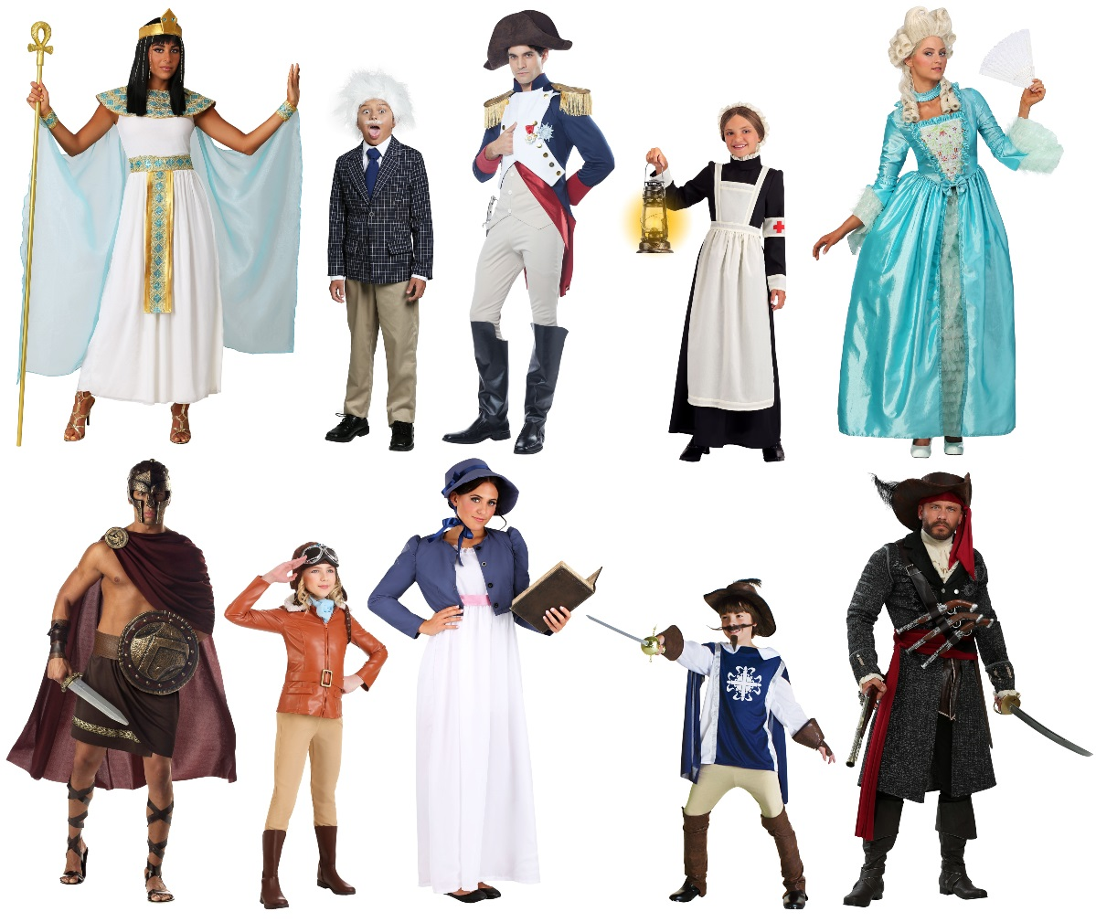 Historical Figure Costumes