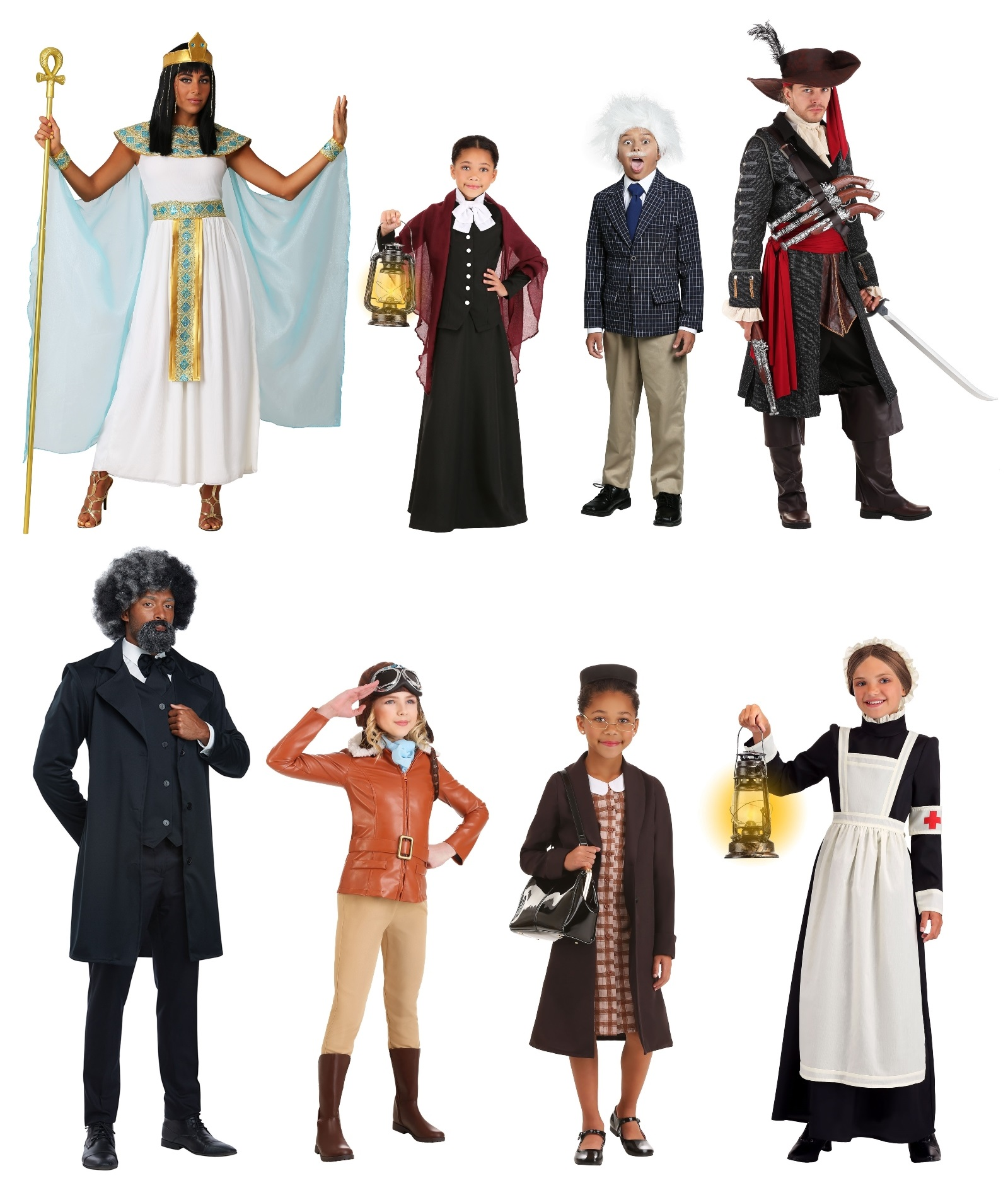 Historical Figure Outfits