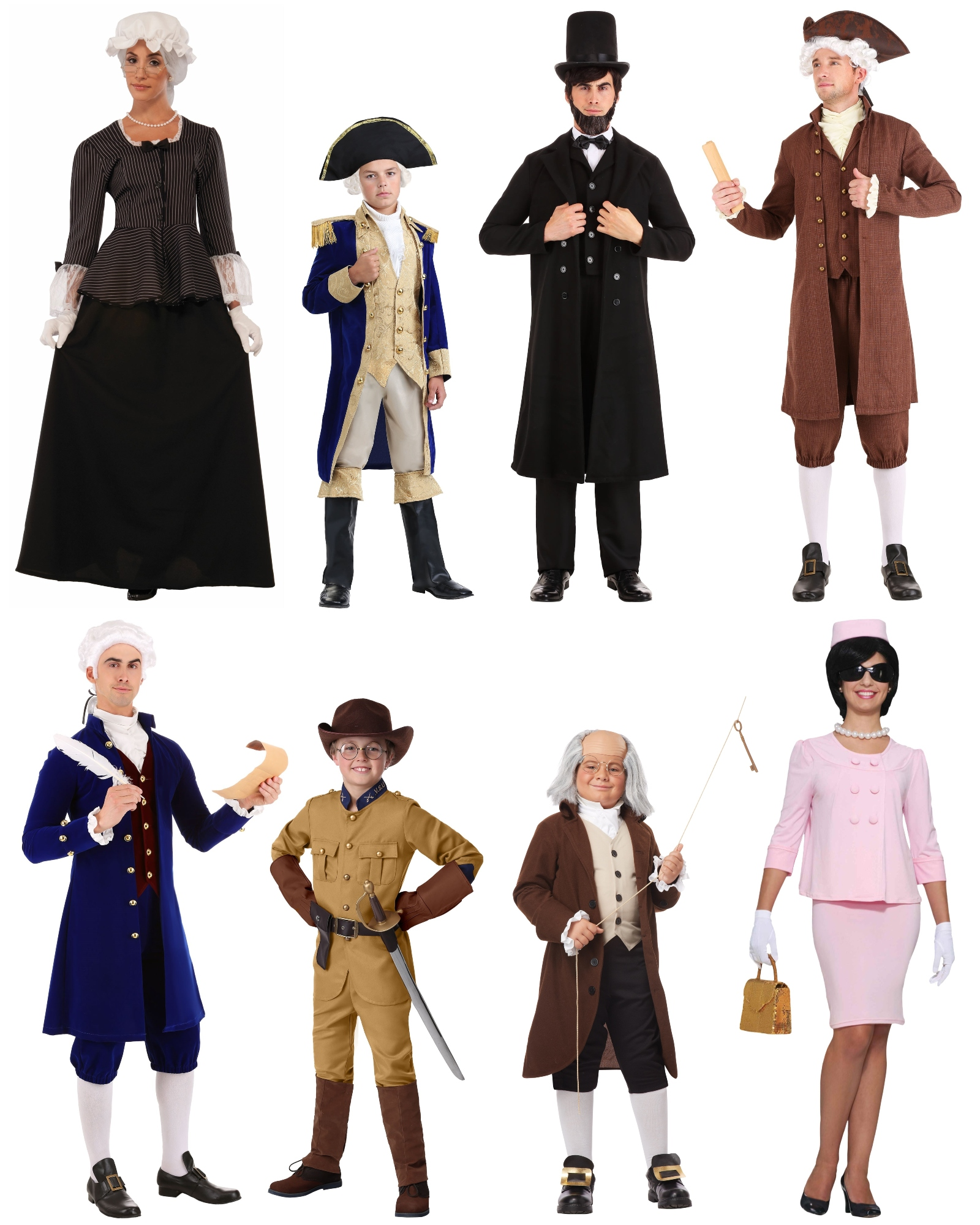 50 Historical Costumes No Time