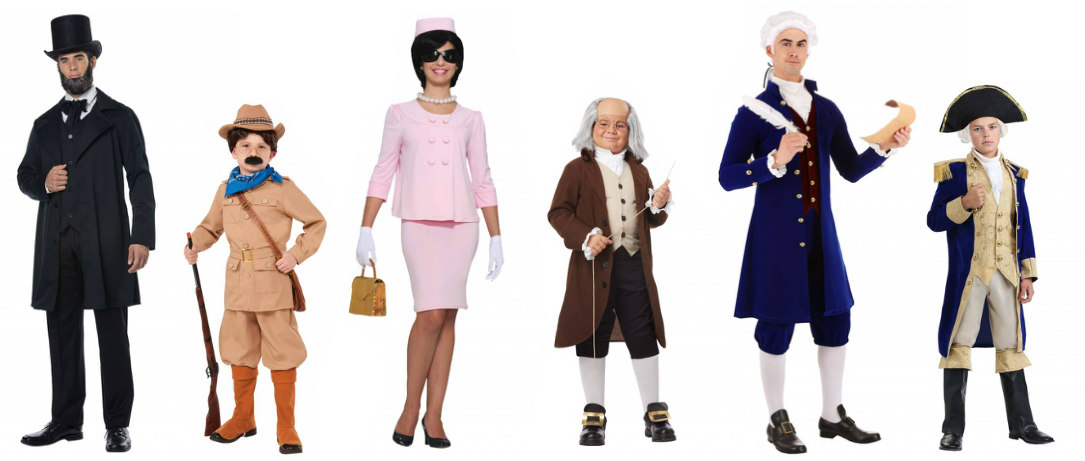 President Masks and Costumes: United States' President Costumes
