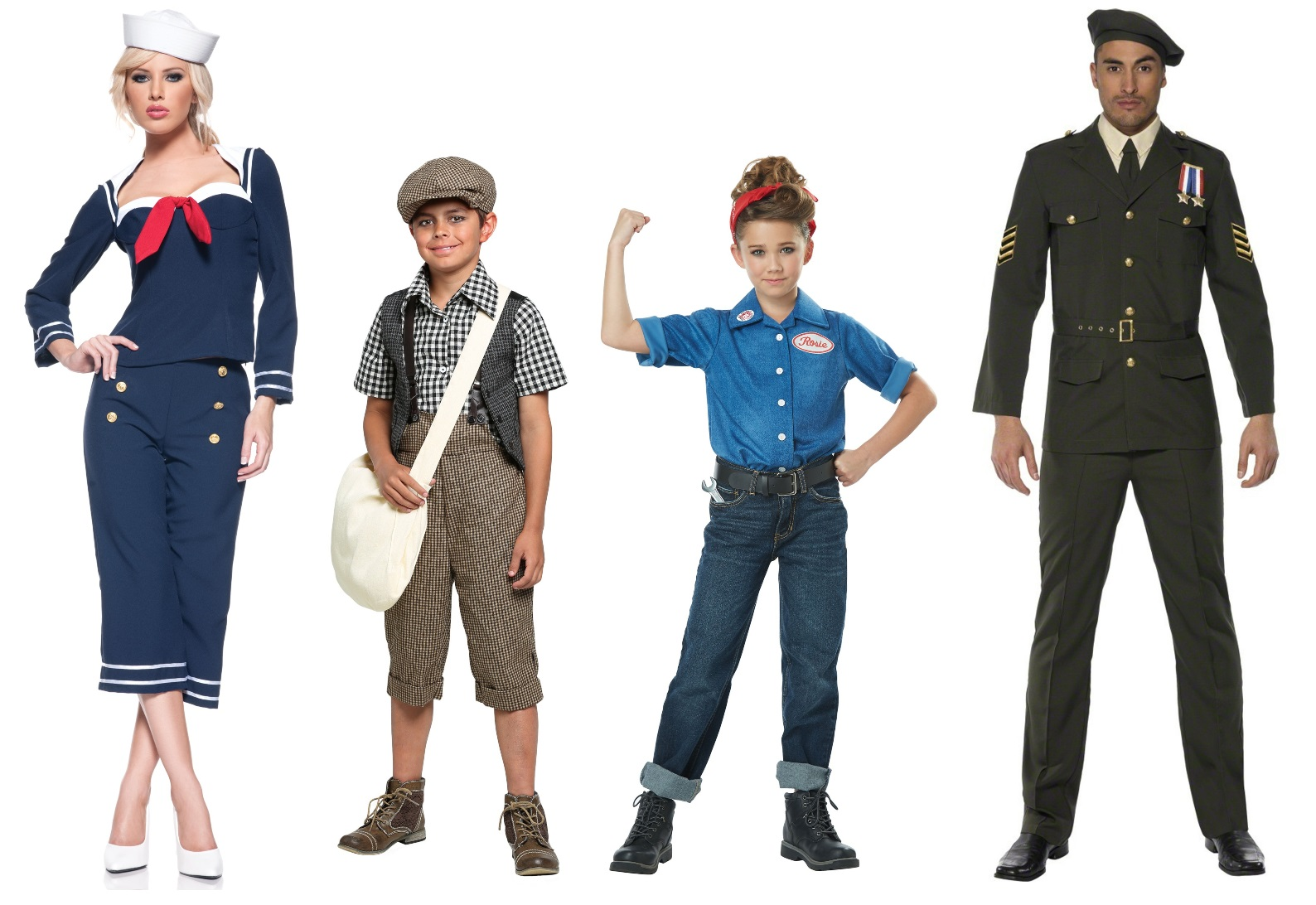 Wartime Costumes