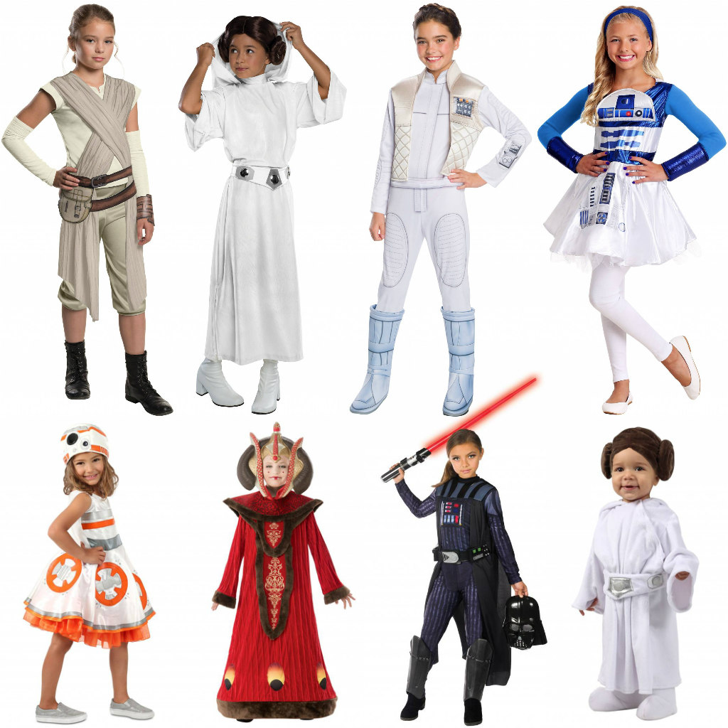 Girls' Star Wars Costumes