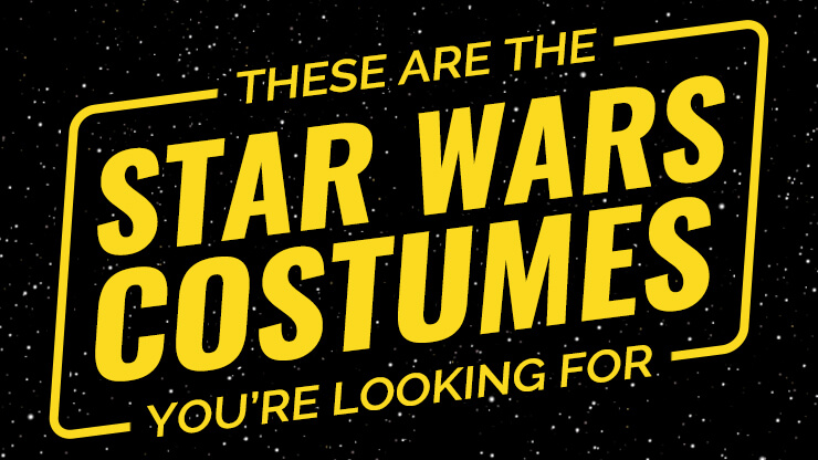 These Are the Star Wars Costumes You're Looking For