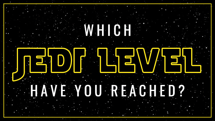 Which Jedi Level Have You Reached?