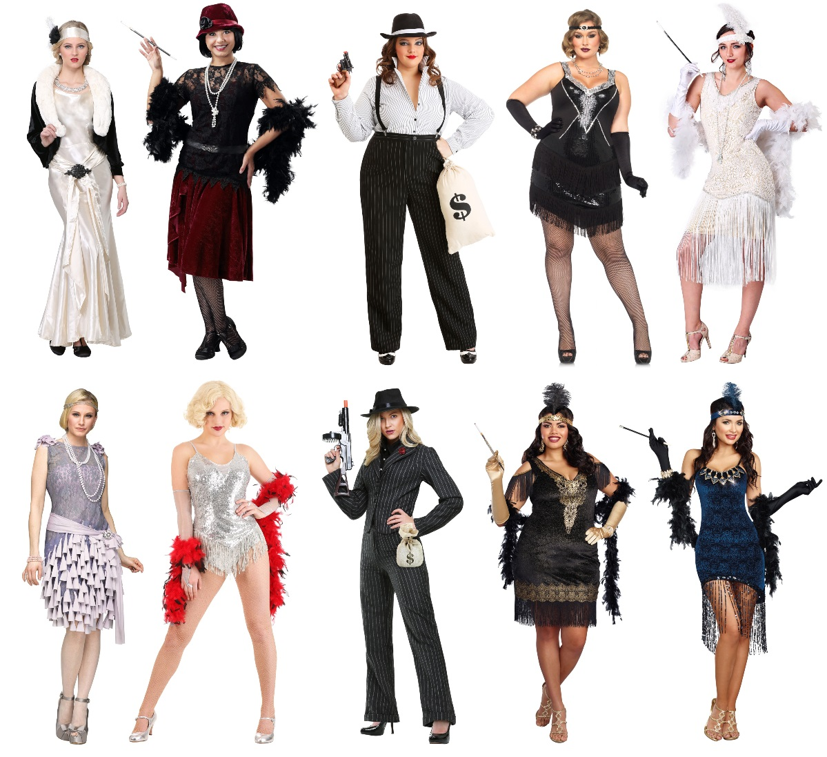 1920s Costumes for Women
