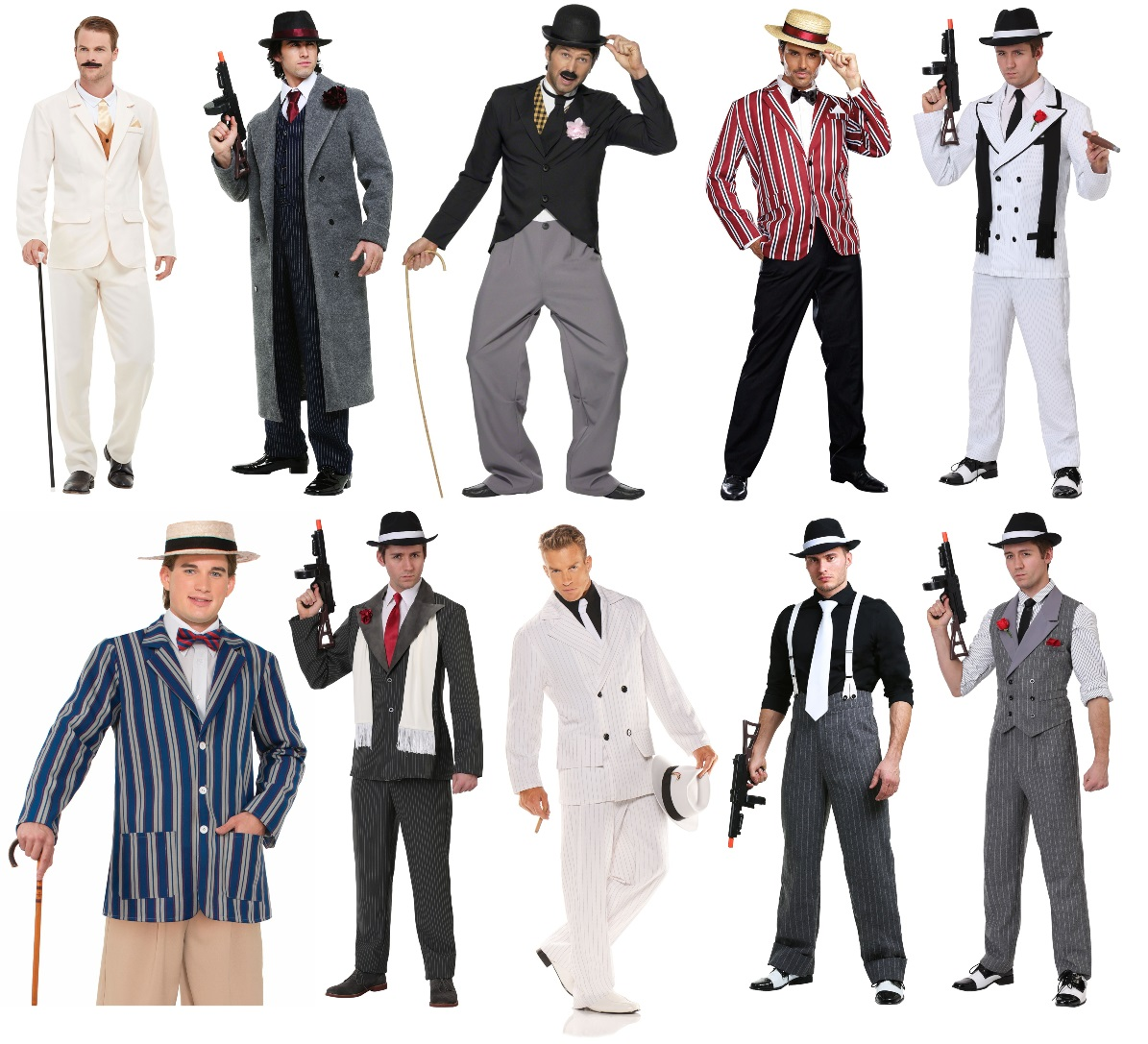 1920s Costumes for Men