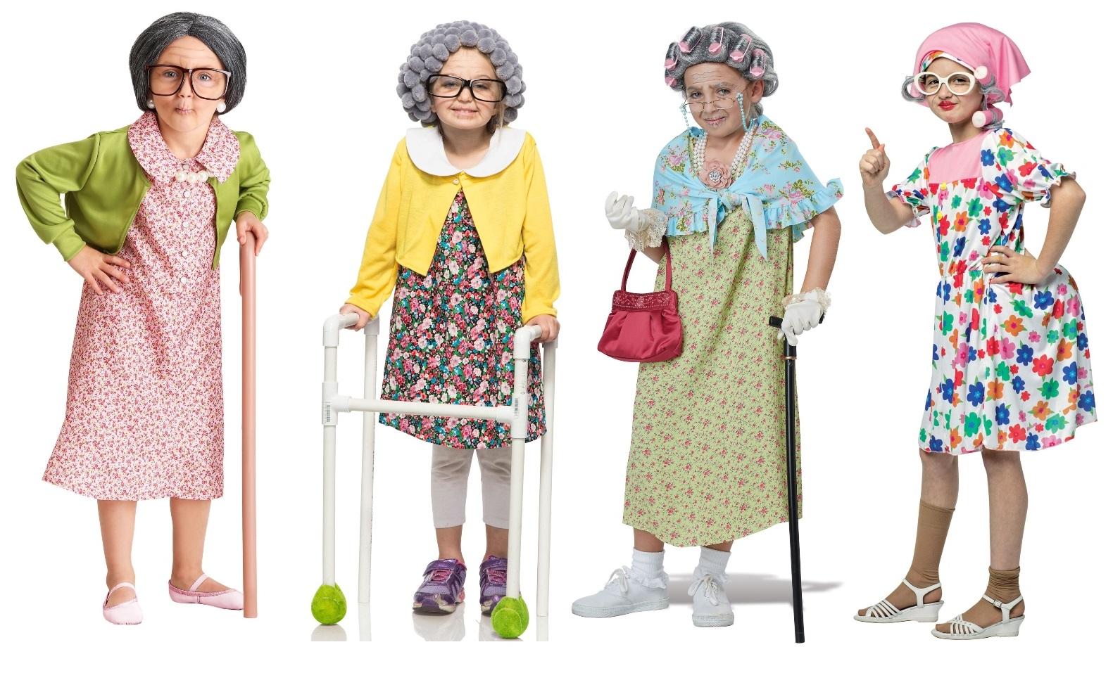 Grandma Costumes for Girls