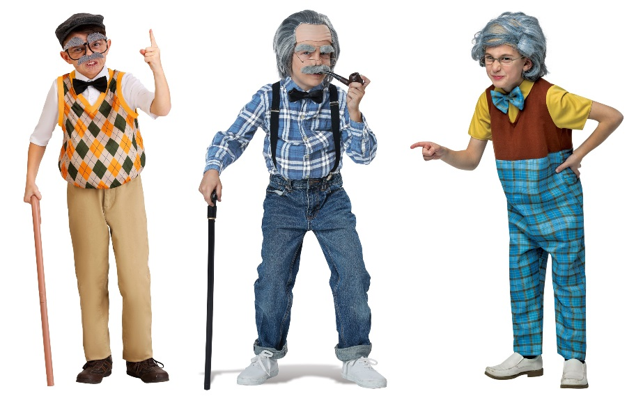 100-Year-Old Man Costumes for Boys
