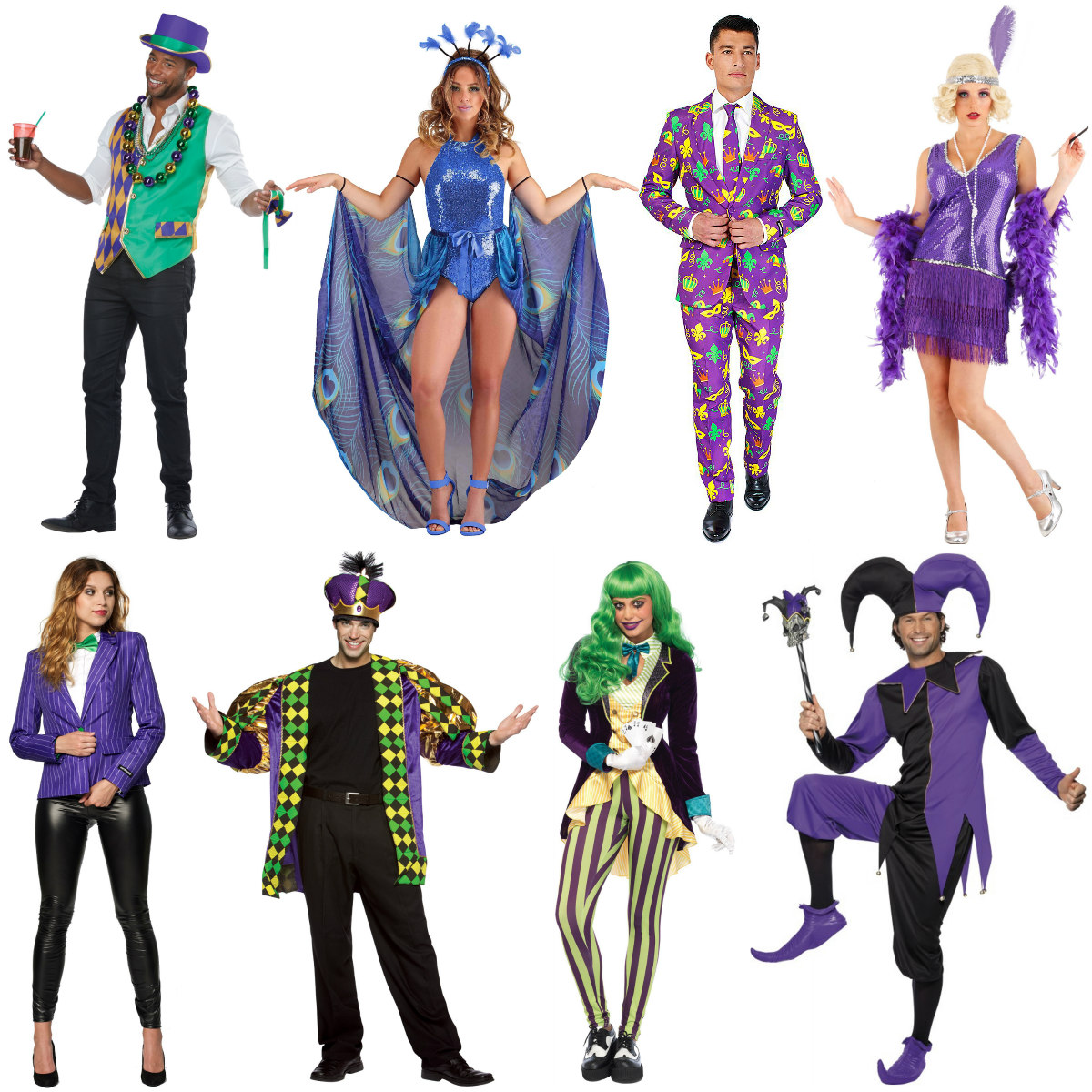 Mardi Gras Costumes for Adults