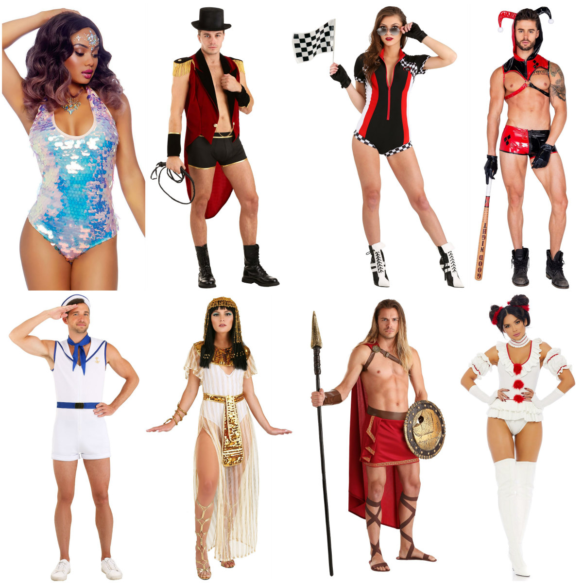 Sexy Carnival Costumes for Adults