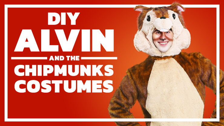DIY Alvin and the Chipmunks Costumes