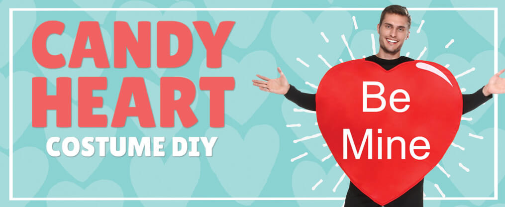 This Easy Candy Heart Costume DIY is Perfect for Valentine's Day