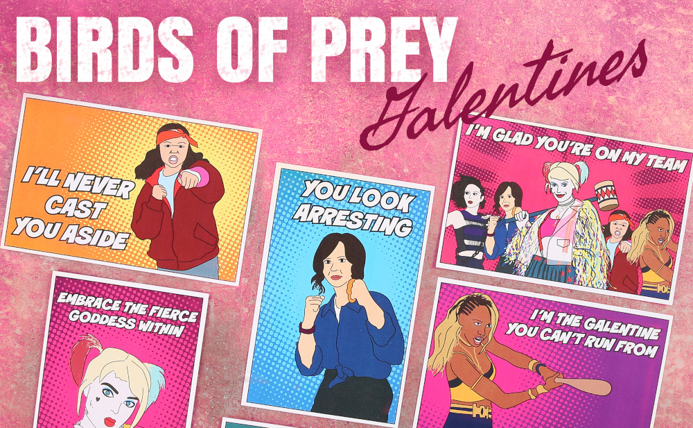 These Birds of Prey Galentines Will Let You Embrace the Fierce Goddess Within