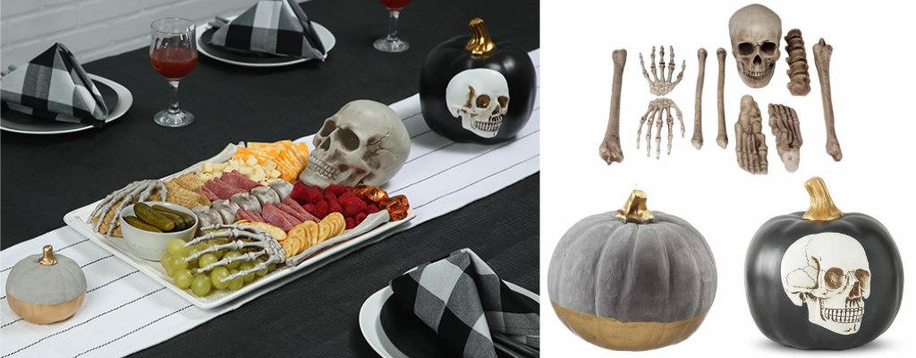 DIY SkeletonCharcuterie Board