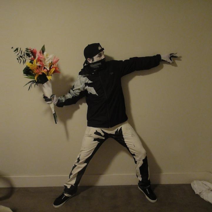 Banksy Costume DIY