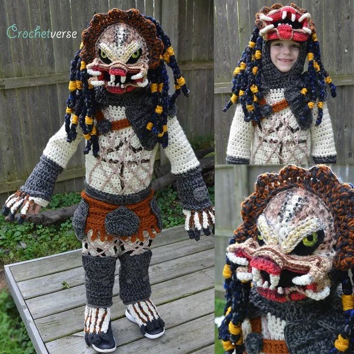 Crochet Predator Costume DIY