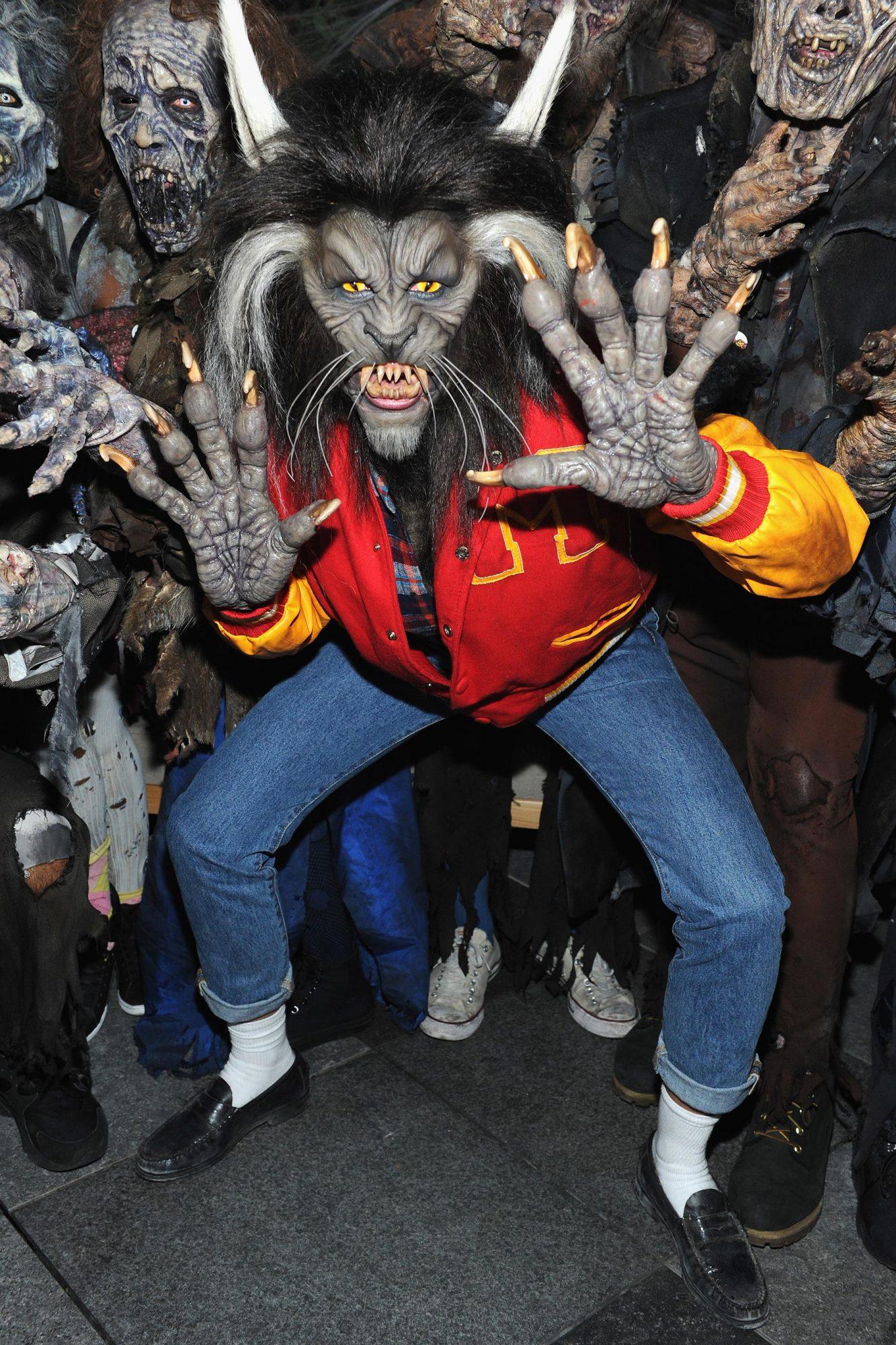 Thriller Werewolf Costume DIY