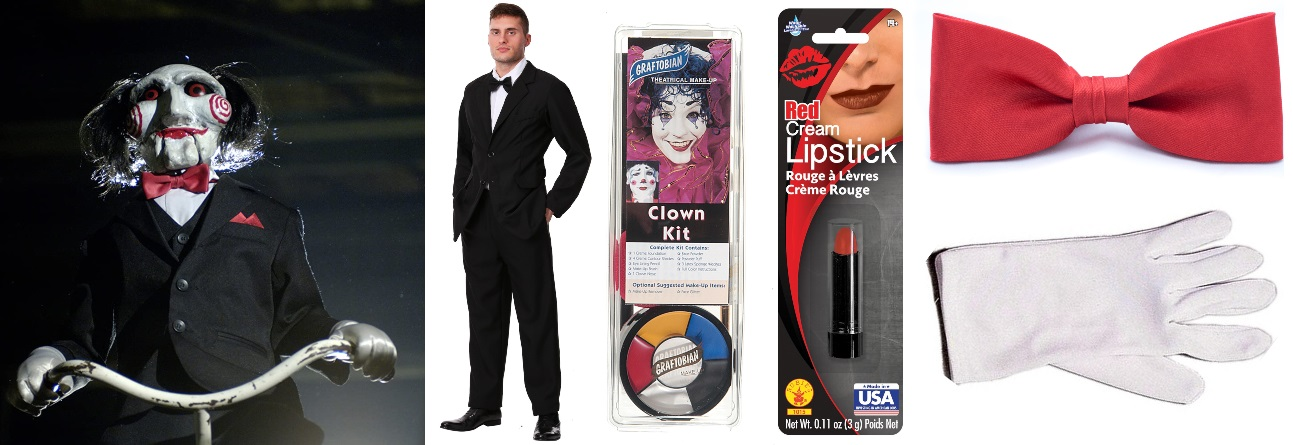 Black Suit Billy the Puppet Costume
