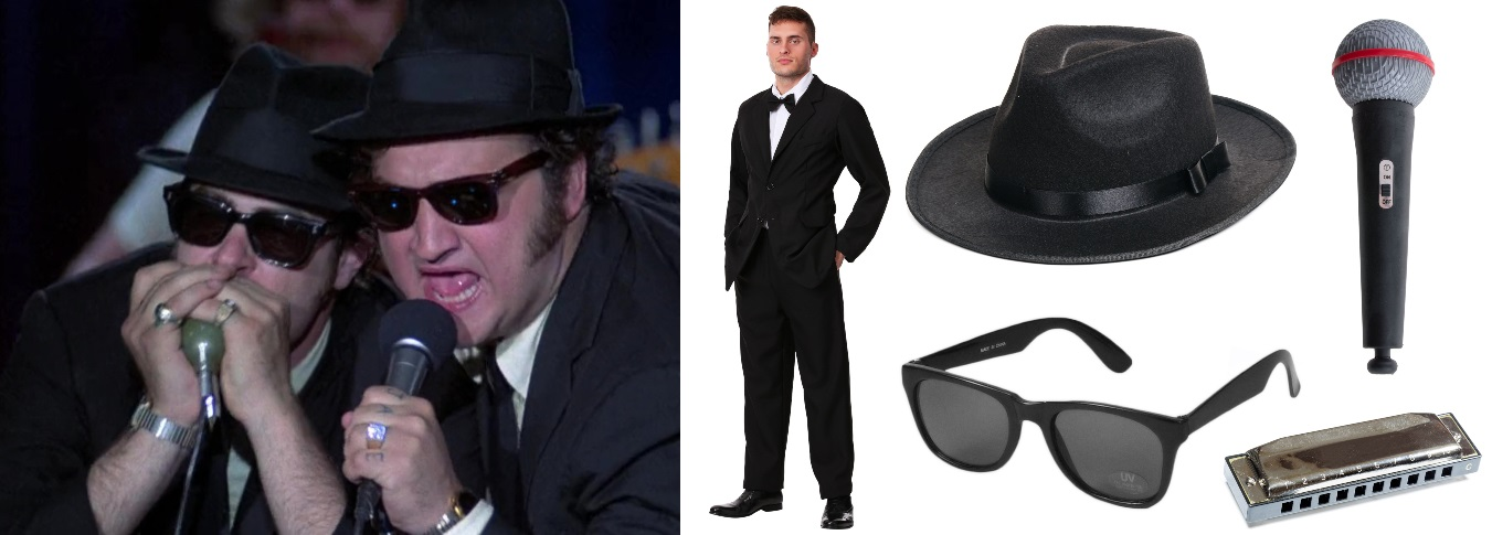 Black Suit Blues Brothers Costumes