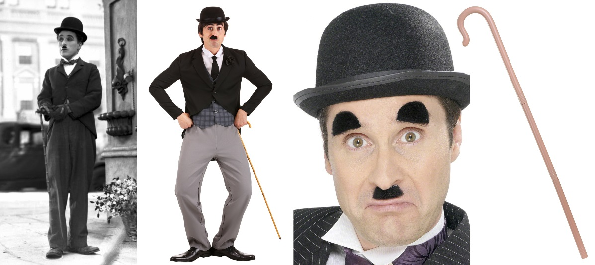 Black Suit Charlie Chaplin Costume