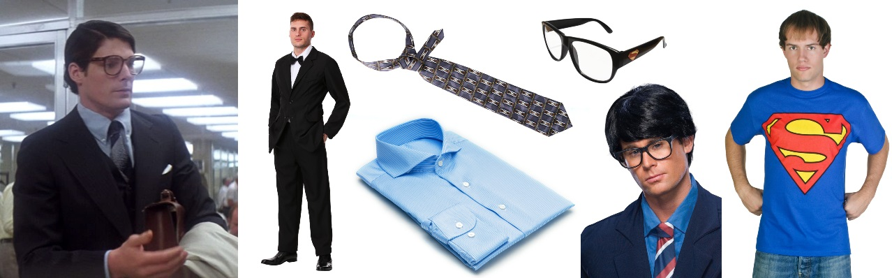 Black Suit Clark Kent Costume