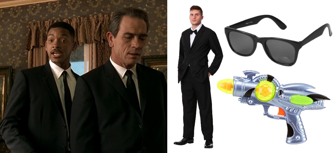 Black Suit Men in Black Costume