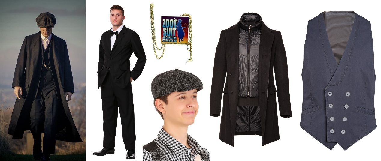 Black Suit Peaky Blinders Costume