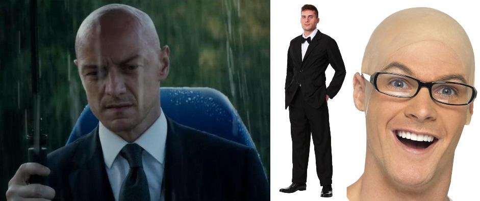 Black Suit Professor X Costume