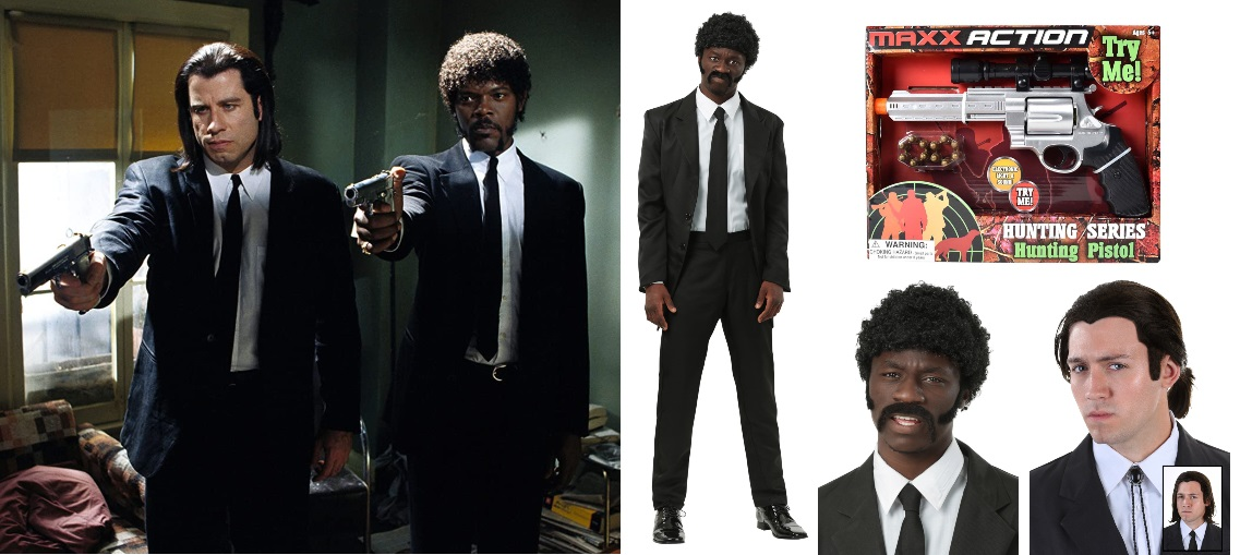 Black Suit Pulp Fiction Costume